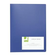 Q-Connect Display Book 10Pocket Blue