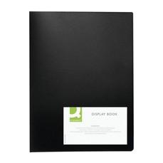 Q-Connect Display Book 10Pocket Black