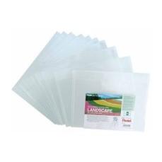 Pentel Recy Doc Envelopes L/Scape Clr