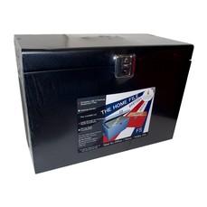 Cathedral Foolscap File Box Black HOBK