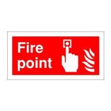 Fire Point 100x200mm PVC  FR07903R