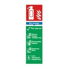 Dry Powder 280x90mm PVC F101/R