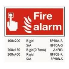 Fire Alarm 100x200mm S/A F90A/S