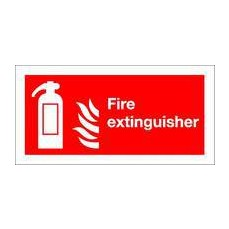 Fire Extinguisher 100x200mm S/A F16D/S