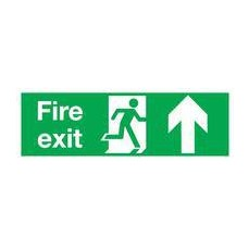 Fire Exit Up 150x450mm S/A EB09A/S