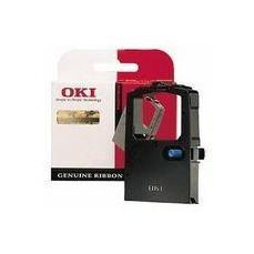 Oki Fabric Cassette Microline Ribbon Black 192 09002303