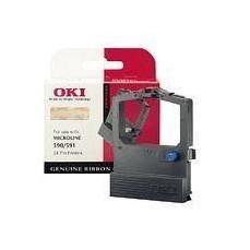 Oki Fabric Ribbon Black 520/521 09002315