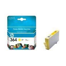 Hewlett Packard No364 Inkjet Cartridge Yellow CB320EE#ABB