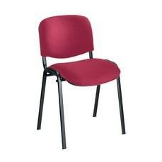 Jemini Ultra Multi-Purpose Stacking Chair Black Legs/Claret